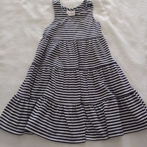 Hanna Andersson size 100 navy & white twirl dress
